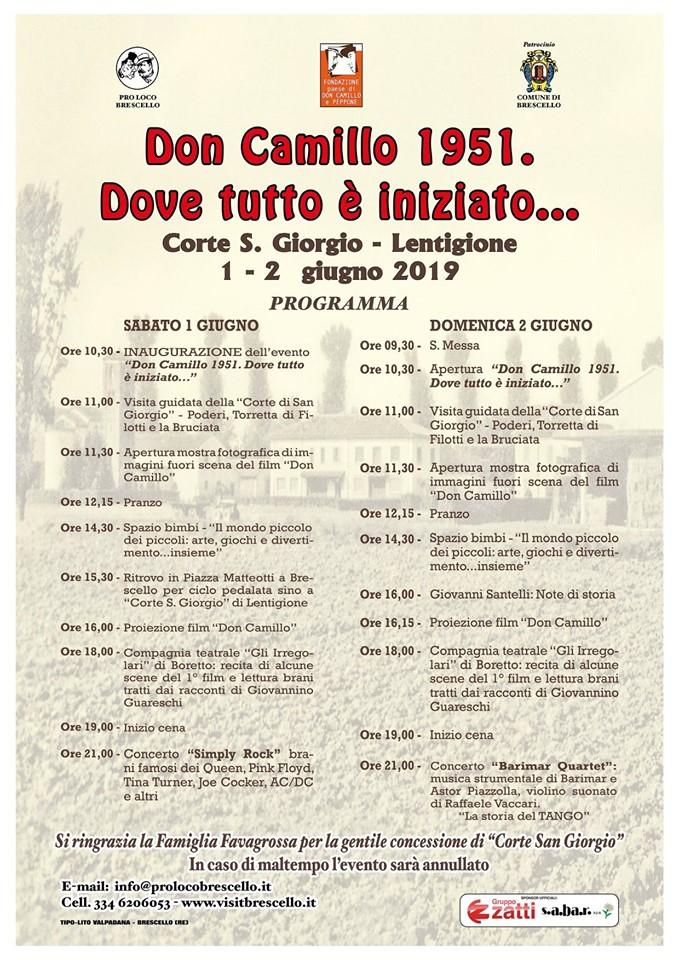 Don Camillo 1951. Dove tutto è iniziato...